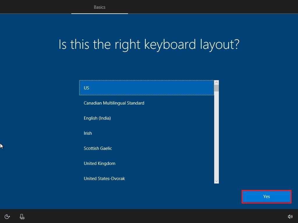 Windows 10 Setup Screen 10